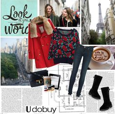 """Roses are red"" by electric-bird on Polyvore"