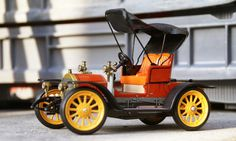 1960s Schuco OLDTIMER OPEL Doctor-Wagen 1909 外箱付き
