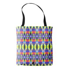 50% OFF All-Over Print Tote Bags – Use CODE: ZFALLGIFTS50 'til Midnite 9-27-17. Similar to the currently trending Ikat style, this design blends abstract art, technology and psychedelia in a completely unique fashion. A mind bending design from a parallel universe that is extraordinarily symmetrical. Over 3000 products at my Zazzle online store. Open 24/7  World wide! Made just for you items shipped to your door. This design is only…