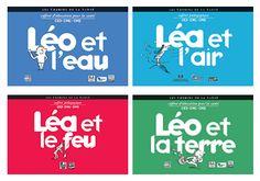 """Petit rappel ! Le PEPS Limousin prête et donne gratuitement les kits INPES """"Léo et la terre, le feu, l'air et l'eau"""", ils sont disponibles dans vos centres ressources départementaux du Limousin."""