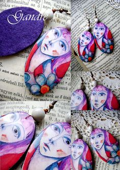 Surreal by Gandre Resin, Coin Purse, Purses, Wallet, Trending Outfits, Unique Jewelry, Handmade Gifts, Earrings, Etsy
