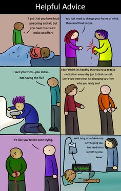 If Physical Diseases Were Treated Like Mental Diseases...  (LDS SMILE)