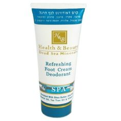 Dead Sea Refreshing Foot Cream Deodorant Spa Aloe Viera with Sheea Butter 100ml #HealthBeauty