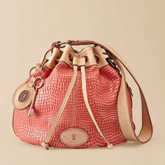 Fossil Maddox Rose Drawstring Bag.  So pretty, so different.