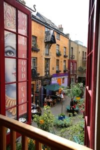 World Food Cafe, Neal's Yard London ~ http://VIPsAccess.com/luxury-hotels-london.html