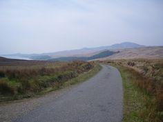 Scottish Islands - The Long Road, Jura