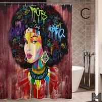 Black Beauty African American Art Shower Curtain For Sale