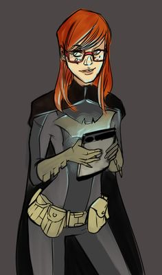 Batgirl Warmup by Kanish.deviantart.com on @deviantART