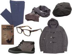 spodnie,kurtka,szal i kaszkiet Navigare