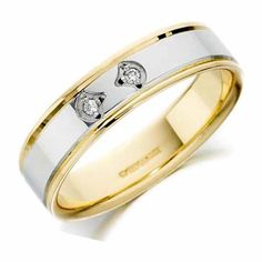 18ct Gold Diamond Wedding Band