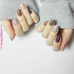 Heart-warming hygge nail designs for 2019 - hairstyles hair More - Nageldesign - Nail Art - Nagellack - Nail Polish - Nailart - Nails - Diy Nails, Cute Nails, Pretty Nails, Diy Nail Designs, Simple Nail Designs, Basic Nails, Simple Nails, Hygge, Manicure E Pedicure