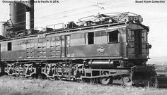 10104B, Class EP-1, was built in May 1916 by Alco, #55137B, and General Electric, #5106B. It was rebuilt and renumbered 10234B, Class EF-2, on July 27, 1920. It was rebuilt and renumbered 10500A, Class EF-5, on September 13, 1932. It was renumbered E25A on March 8, 1939.