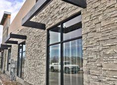 Mason's Choice - Flint Hills Flint Hills, Stone Gallery, Manufactured Stone, Choices, Mountain, Windows, Home Decor, Decoration Home, Room Decor