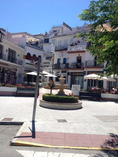 Downtown Mijas.