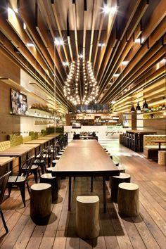 AUDAZ DISEÑO Restaurante Gaga en Shenzhen