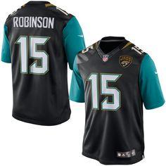 73e9c53cf ... nfl jersey Justin Blackmon Jacksonville Jaguars Nike Youth Game Jersey  – White - 37.99 Allen Robinson Jacksonville Jaguars Nike Limited Jersey -  Black ...