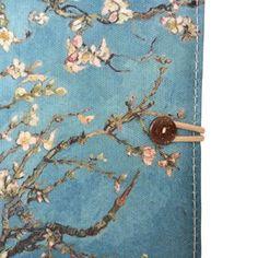 TaylorHe 6 inch Custodia a portafoglio per eReader (eBook Reader ) colorato con i modelli per Kindle Paperwhite / Kindle Voyage blu / verde albero in fiore