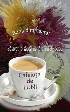 Romantic Good Night, Good Morning, Tableware, Flowers, Folklore, Pictures, Buen Dia, Dinnerware, Bonjour