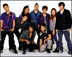 Quest Crew! Lydia Paek - purple skinnies, high top boots
