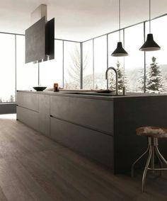 küchengestaltung moderne küche mit kücheninsel