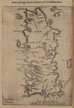 1619 Χάρτης της Κρήτης. - COOTWIJCK, Johannes van - ME TO BΛΕΜΜΑ ΤΩΝ ΠΕΡΙΗΓΗΤΩΝ - Τόποι - Μνημεία - Άνθρωποι - Νοτιοανατολική Ευρώπη - Ανατολική Μεσόγειος - Ελλάδα - Μικρά Ασία - Νότιος Ιταλία, 15ος - 20ός αιώνας