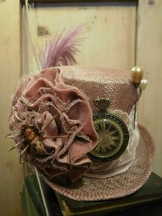 without words! awesome steampunk style hat