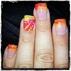 Acryl Nail Art Designs 26