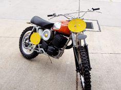 1975 husqvarna cr gp 250   Husqvarna CR 450 1972