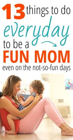 13 daily habits of happy moms. How to be a good mom even on the hard days. How t… 13 daily habits of happy moms. How to be a good mom even on the hard days. How to be a fun mom for your kids by doing these things every day. The best mom life … Gentle Parenting, Parenting Advice, Kids And Parenting, Peaceful Parenting, Parenting Classes, Beste Mama, Bad Mom, Happy Mom, Mom Hacks
