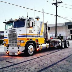 Kevin Young's awesome freightliner