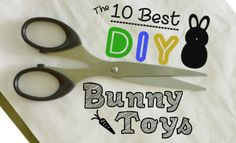 Store bought toys are pricey, but still poor quality. In 5 minutes our bunny destroys a $10.00 toy. So, make your own DIY bunny toys -- we did -- it's cheap and fun. Bunny rabbits need mental stimulation, they are smart and playful. These DIY toys will keep your bunny's brain as sharp as her nails. ~DIY Bunny Toys, DIY Rabbit Toys~