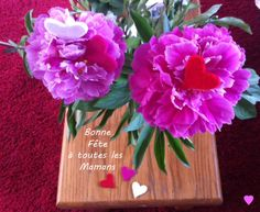 Bonne fête à toutes les Mamans! Happy Mother's Day! #mothersday #fete #mere #maman #fleur #pivoine #rose #coeur #heart #rouge #blanc #pink #red #white #peonies #coffretabijoux #enjoy