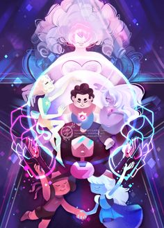The Crystal Gems - Steven Universe by mmishee on DeviantArt