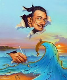 Fine art by master artist Jim Warren. Dali Paintings, Art Paintings For Sale, Magritte, Jim Warren, Salvador Dali Art, Modern Surrealism, Surreal Artwork, Magic Realism, Artwork Images