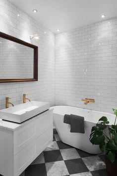 Bathroom, brass, tapwell, Swedbergs