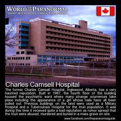 Charles Camsell Hospital - Inglewood, Edmonton, Alberta, Canada - 'World of… Short Creepy Stories, Ghost Stories, Horror Stories, Creepy Facts, Fun Facts, Creepy Stuff, Creepy Things, Creepy Dude, Weird