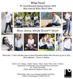 #Bluejeans #whiteshirt #SS19 #priyachander #white #denim #blue #bluejeandandwhiteshirt #printart #kidswear #weaving #burberry #fashiontrends #spring2019 #WGSN #NIKE #ADIDAS #fashionprints #printdesigns #pantone #cotton #fashionresearch #fashionforecast #menswear #mensfashion #womenswear #interiordesign #interiors #knits #menstyle #dapper #colortrends #fashionstyle #fashionindustry #fashionweek #runway #fashionista #NYFW #LFW #PFW #MFW #fashiondesigner #hometextiles #interiors #interiordesign…