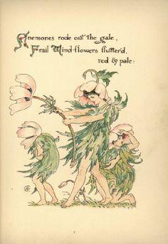 Flora's Feast (VI) - Walter Crane.