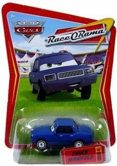 Disney Pixar Cars Race O'Rama Chuck Manifold by Mattel. $10.95. 1:55 scale die cast toy car by Mattel. 1:55 scale die cast toy car by Mattel