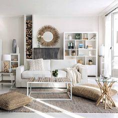 ampliar el espacio maisons du monde salon blanco