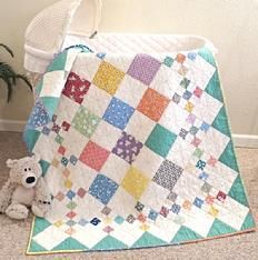 quilt pattern easy beginner scrappy baby crib twin queen