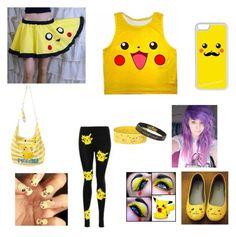 """""""school pikachu"""" by musicislove013113 ❤ liked on Polyvore featuring CellPowerCases"""
