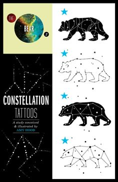 constellation tat.  Get the outline of the bear and then fill it with the heavens.