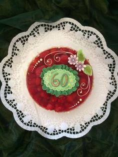 Ein fruchtiger #Kuchen Gruß zum 60. #Geburtstag aus der Konditorei Held am Tegernsee Bad Wiessee, Held, Decorative Plates, Home Decor, Pies, 60 Birthday, Cake Shop, Holiday, Decoration Home