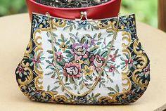 Vintage Handbags- needlepoint