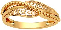 Buy JewelOne 22k (916) Yellow Gold The Nerina Ring at Amazon.in Gold Ring Designs, Gold Bangles Design, Gold Jewellery Design, Real Gold Jewelry, Rings Online, Necklace Set, Gold Necklace, Jewelry Stores, Gold Rings