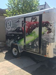 Go Adventures Vinyl wrap & Vinyl Lettering - Car wraps NYC #car #wraps #wrap #trailer #vinyl #design