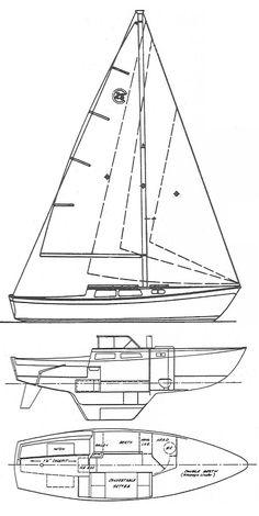 Catalina 22 sailboat tattoo... For my grandpa (still with