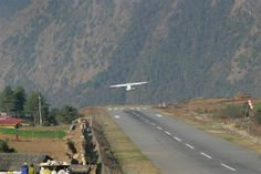 Take-off at Lukla