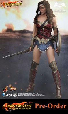Hot Toys 1/6 MMS359 – Batman v Superman: Dawn of Justice - Wonder Woman #HotToys